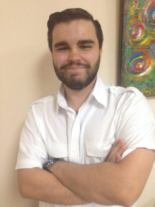 John Pena in SEO Training Miami. Sexiest guy in the universe.